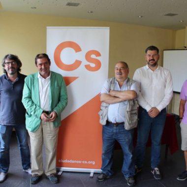 Presentación de la agrupación local de Ciudadanos El Franco