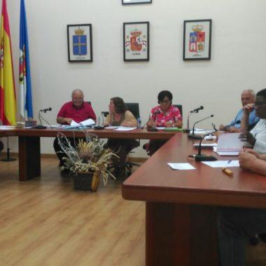 Se celebra el pleno de organización en el ayuntamiento de Tapia de Casariego