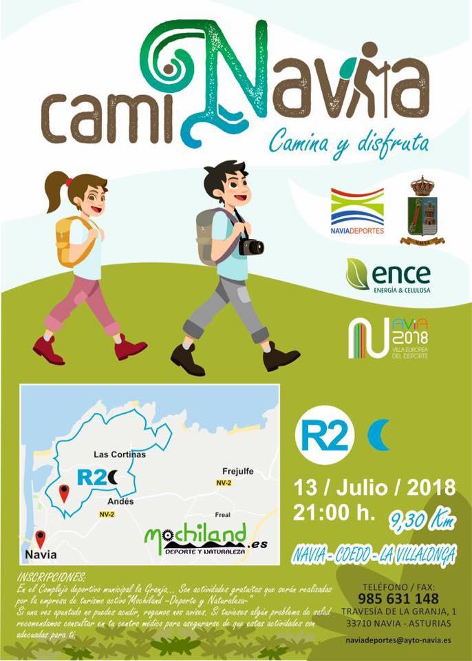 Este viernes 2ª Ruta CamiNavia por Andés y la playa de Coedo