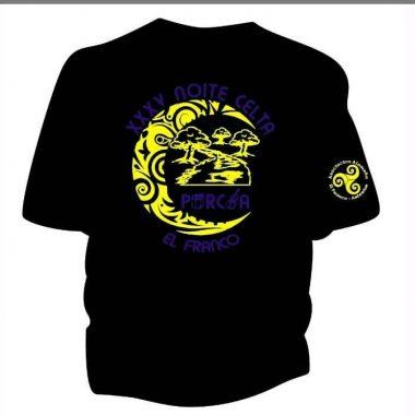 El asociación cultural Alameda xa vende Camisetas da XXV Noite Celta de Porcía