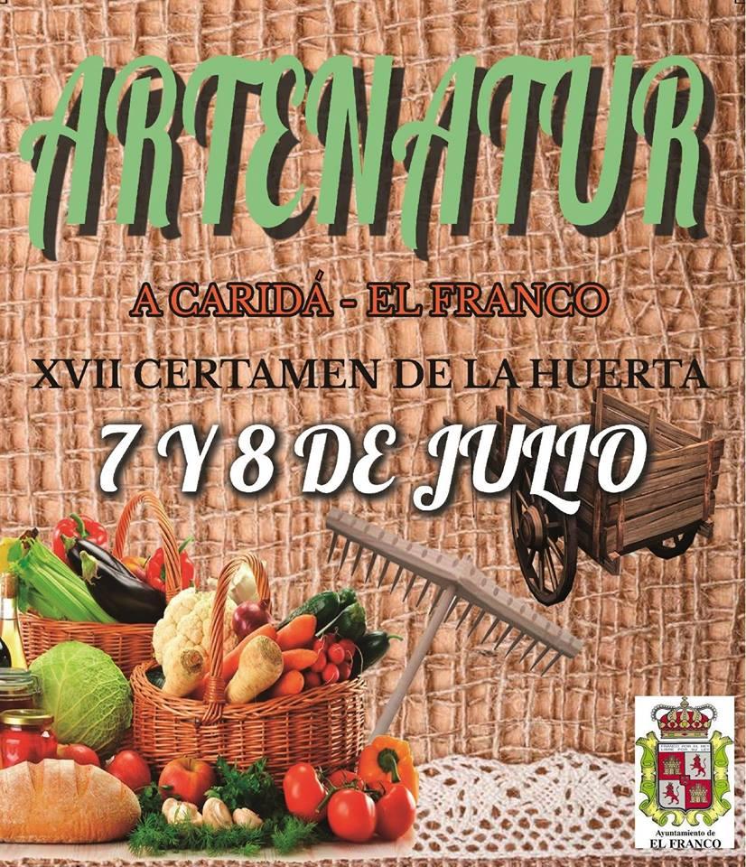 XVII Feria Artenatur en A Caridá (El Franco), 7 y 8 de julio