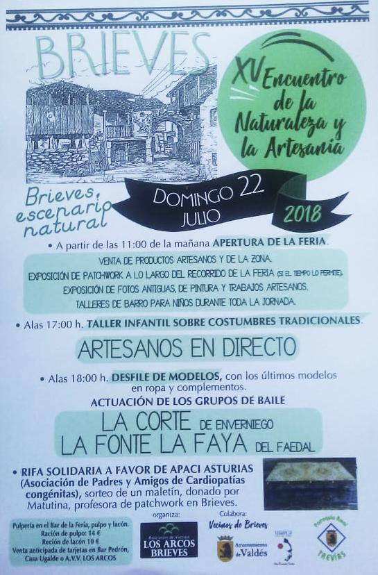 XV Encuentro de Naturaleza y Artesanía de Brieves (Valdés)
