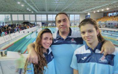 Tres nadadoras de la Comarca al Nacional Absoluto y Junior de Natación