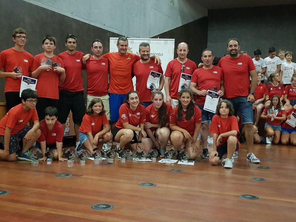 Valdés celebró esta tarde su XV Gala del Deporte
