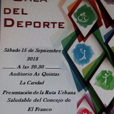 El Franco celebrará su XIII Gala del Deporte el 15 de Septiembre