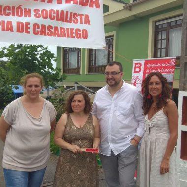 """Ana Vigón, alcaldesa de Tapia: """"para nosotr@s es una bonitada bastante importante"""""""