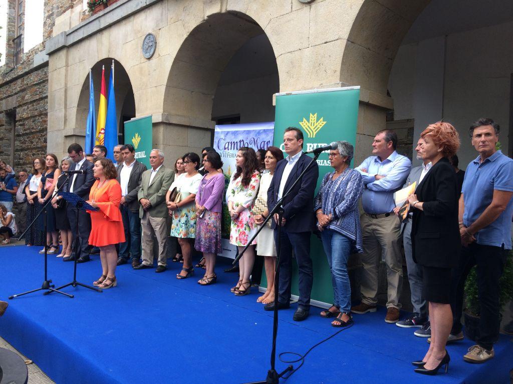 Inaugurada la XXVI Feria Campomar en Tapia de Casariego