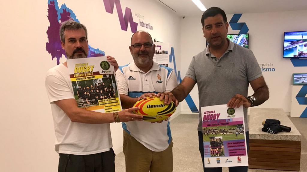 El Be One Ribadeo ofertará Rugby en las Escuelas Deportivas Municipales de Foz