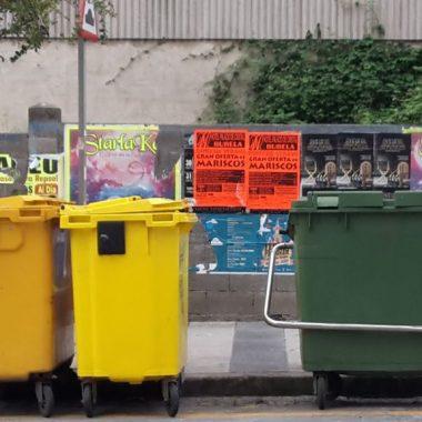 ASCAM recogerá temporalmente los residuos del contenedor amarillo y del cartón en Ribadeo