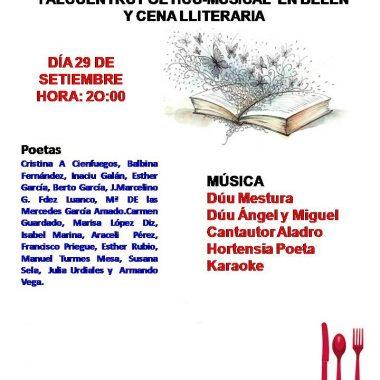 I Alcuentru Poéticu-Musical y Cena Lliteraria en Belén (Valdés)
