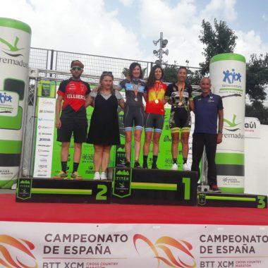 Teresa Barreira, revalida el título de Campeona de España de Maratón BTT Máster-40