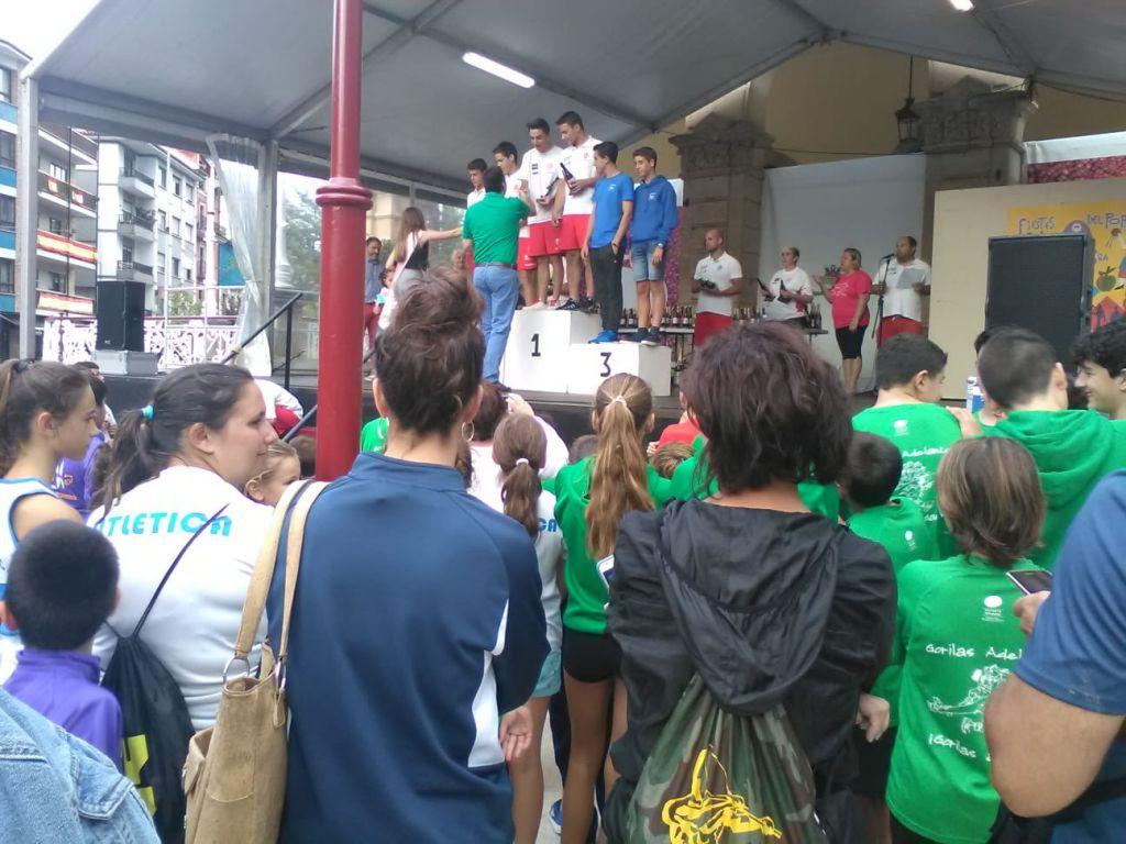 Buenos resultados del Club Albiones en Villaviciosa y Pravia