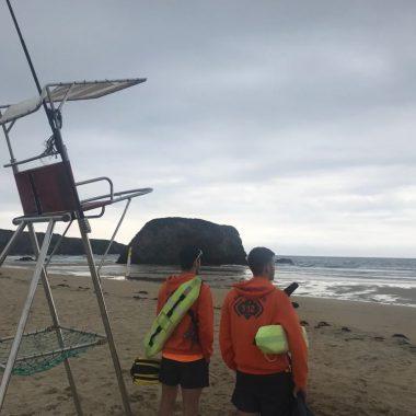 El Servicio de Socorrismo y Salvamento en playas de Castropol atendió 363 incidencias este verano