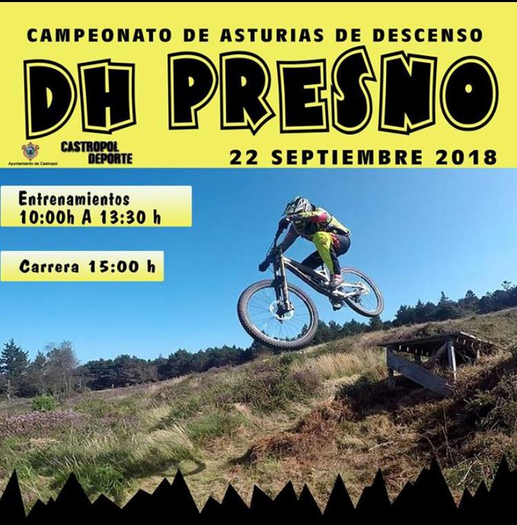 Presno acogerá el Campeonato de Asturias de Descenso BTT