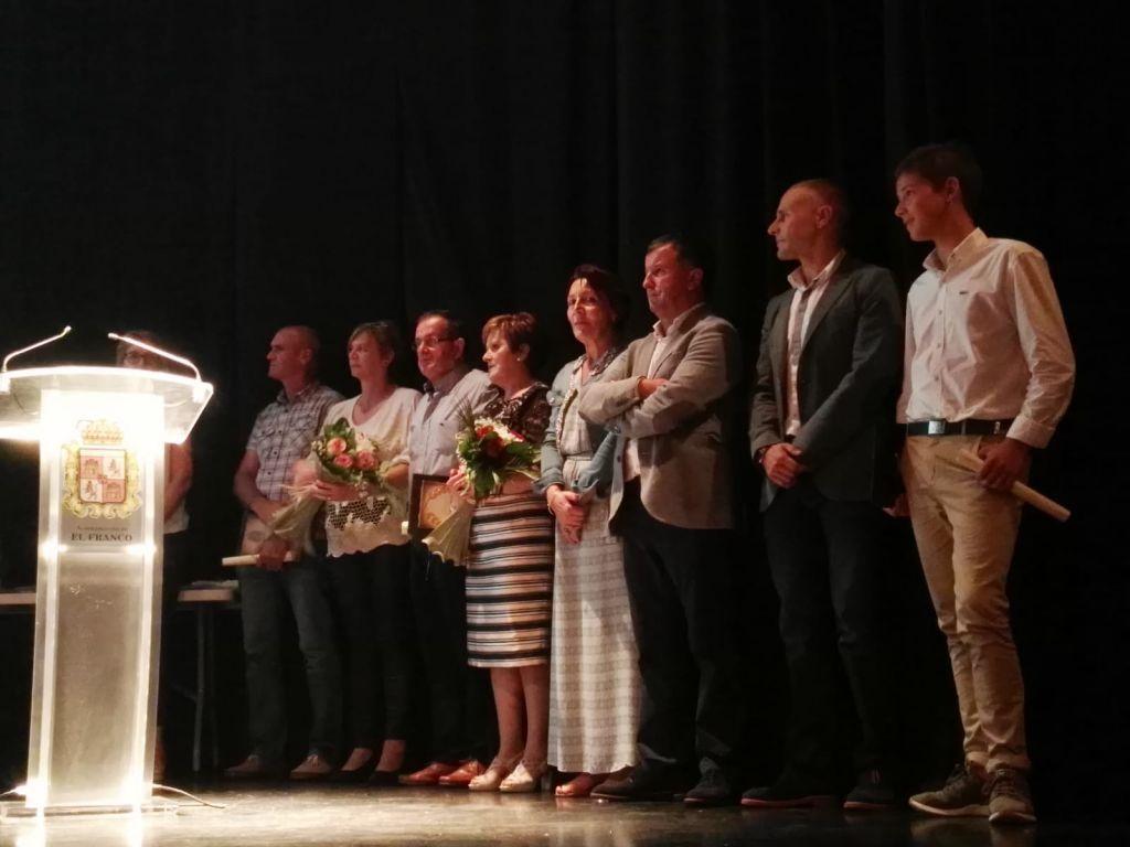 El Franco celebró su XIII Gala del Deporte