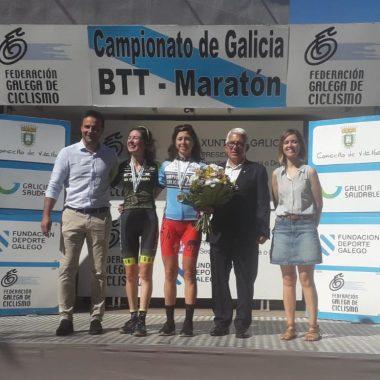 Teresa Barreira (Castropol Deporte), Campeona de Galicia Maratón BTT Máster-40