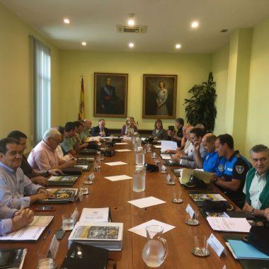 La Delegada del Gobierno preside la Junta de Seguridad para el Rallye Princesa de Asturias