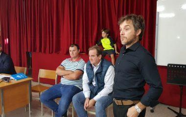 Presentación de la Escuela de Fútbol Mareo-Luarca