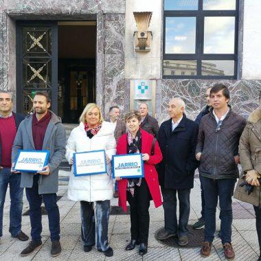 """Álvaro Queipo: """"la inversión de 1 millón de euros en obras no es la solución a la calidad del servicio que se presta en el Hospital de Jarrio"""""""