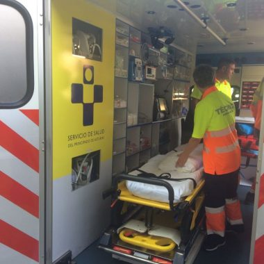 Entra en servicio la UVI Móvil del Hospital de Jarrio para todo el Área Sanitaria I