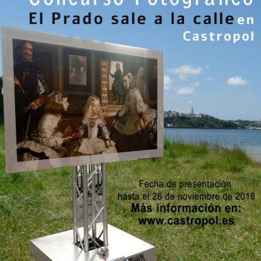 Continúan las visitas a las exposiciones de El Prado en Castropol