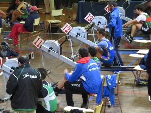 19 remeros de la Comarca competirán en el Nacional de Remoergómetro
