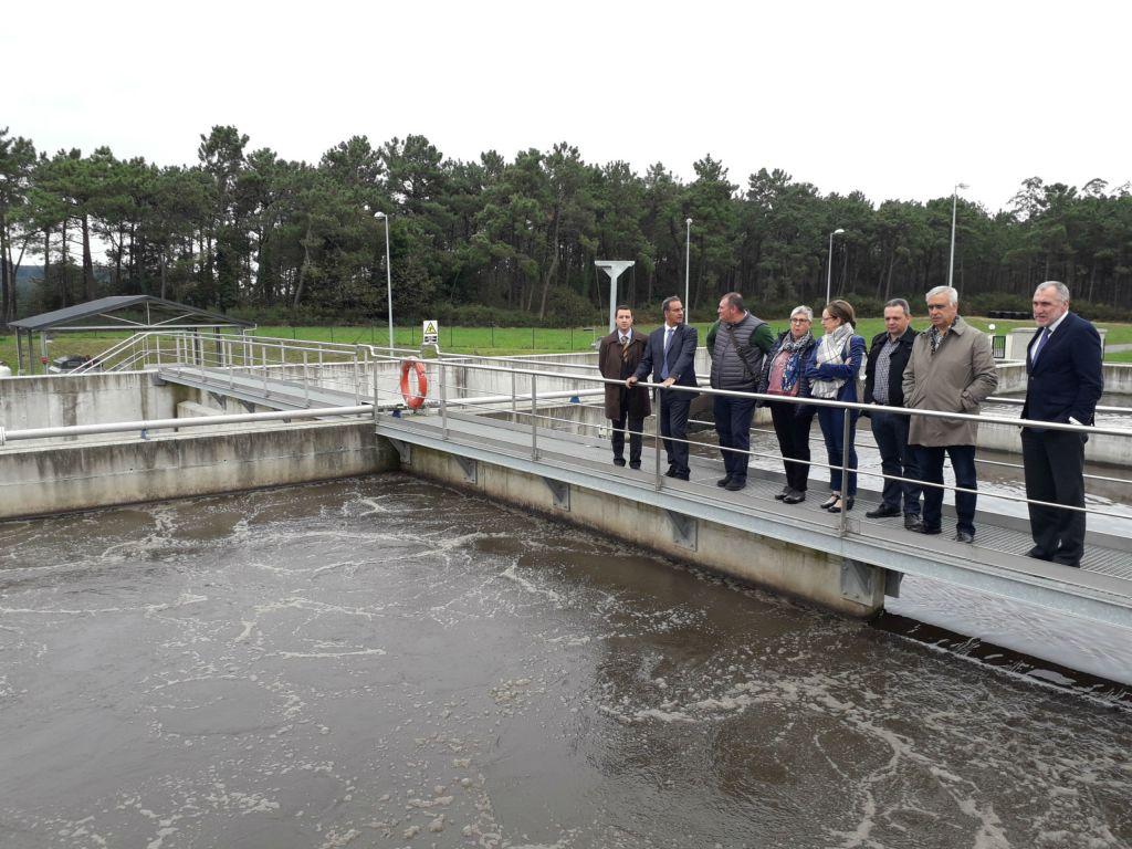 Medio Ambiente pone en servicio el sistema de saneamiento y depuración que mejora la calidad del agua que se vierte a la ría del Eo