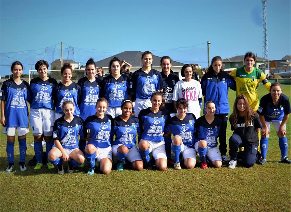 Primera Victoria Liguera del Real Tapia Femenino (1-5) ante el Grisú