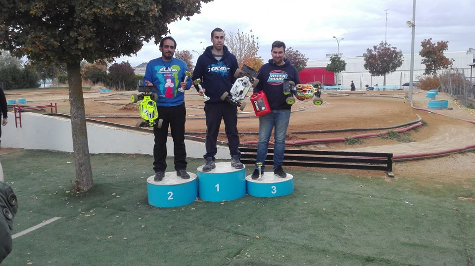 El castropolense Pablo Fernández, Vencedor del Campeonato de Castilla-León de Coches Radio Control