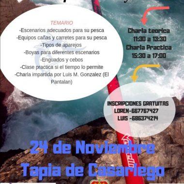 I Curso de Iniciación de Pesca a Boya en Tapia
