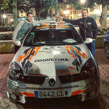 Rubén Avello, Primero en Grupo N en el Rallysprint Villa de Luarca