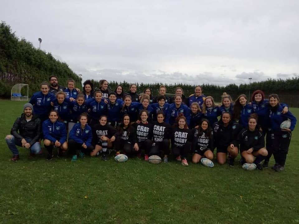 El Club Rugby Arquitectura Técnica Femenino realizó una Concentración de Fín de Semana en Ribadeo