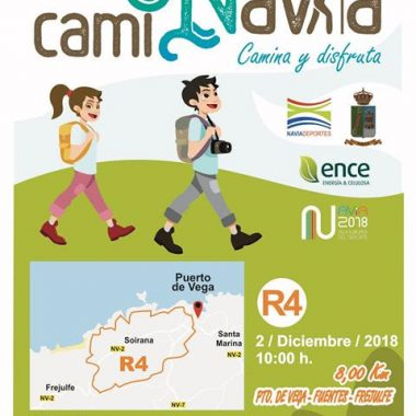 El domingo la última Ruta del Programa Caminavia en Puerto de Vega