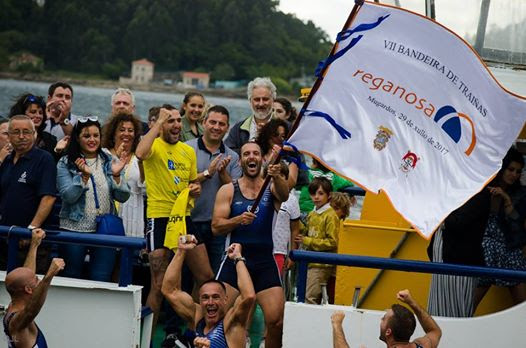 La Trainera Coruñesa de Mera realizará este sábado entrenamientos en la Ría de Navia