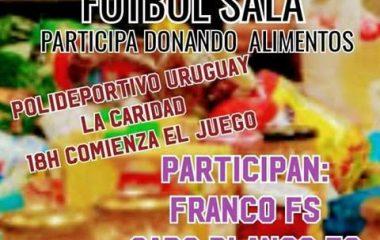 Torneo Benéfico de Fútbol Sala el 6 de Diciembre en La Caridad