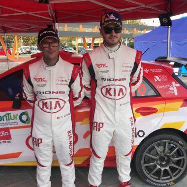 El piloto asturiano Ángel Paniceres participa este fin de semana en el Rallye Comunidad de Madrid