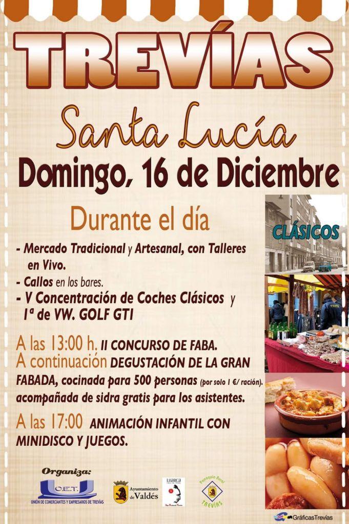 Feria de Santa Lucía en Trevías (Valdés)