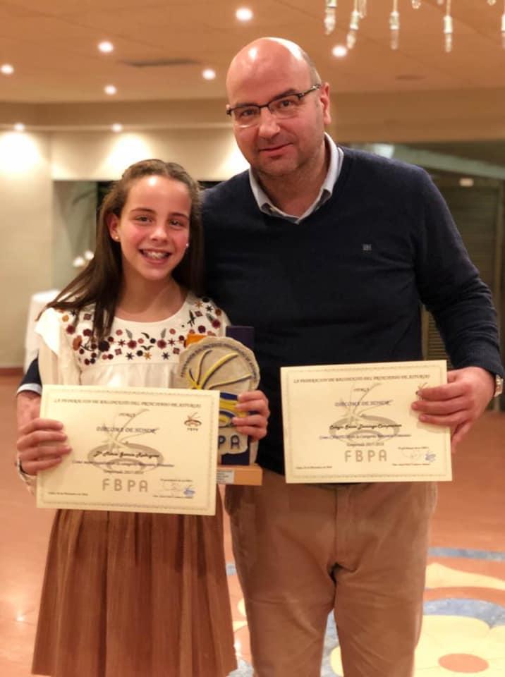 EL CB Navia galardonado en la Gala del Baloncesto Asturiano