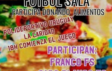 Torneo Benéfico de Fútbol Sala este Jueves en La Caridad
