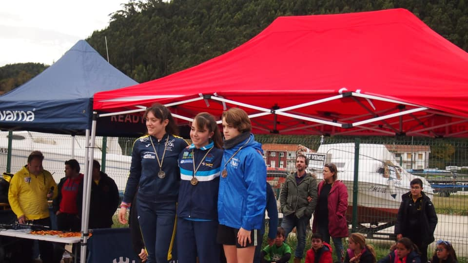 Buenos resultados del Club Albiones en el Regional de Piragua-Cross y Travesía del Bajo Nalón