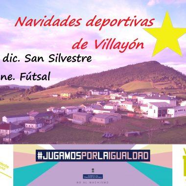 Navidades Deportivas en Villayón con la San Silvestre y el Torneo de Fútbol Sala de Reyes