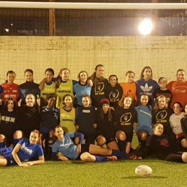 El Navia Rugby Club participó en la 2ª actividad de detección de talentos del Programa Mujer y Deporte