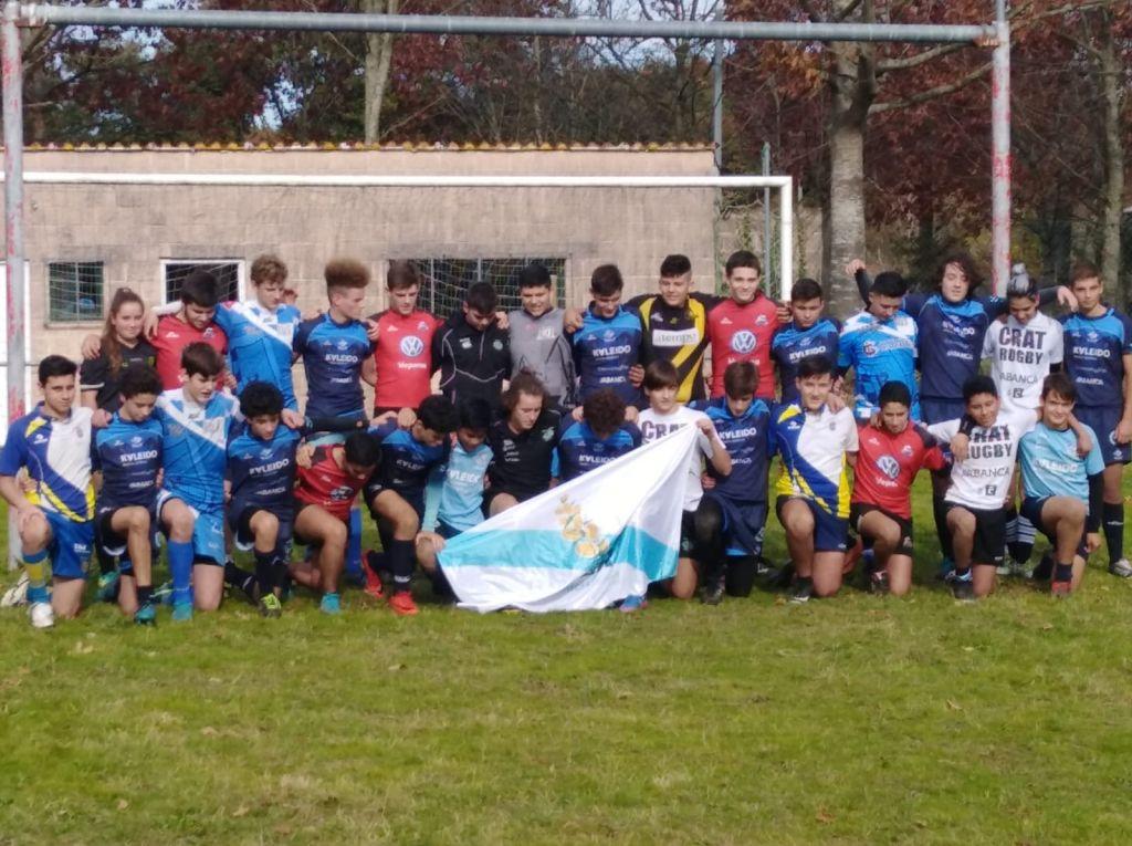 El Beone Ribadeo Rugby sigue con la organización de actividades a ambos lados de la Ría del Eo