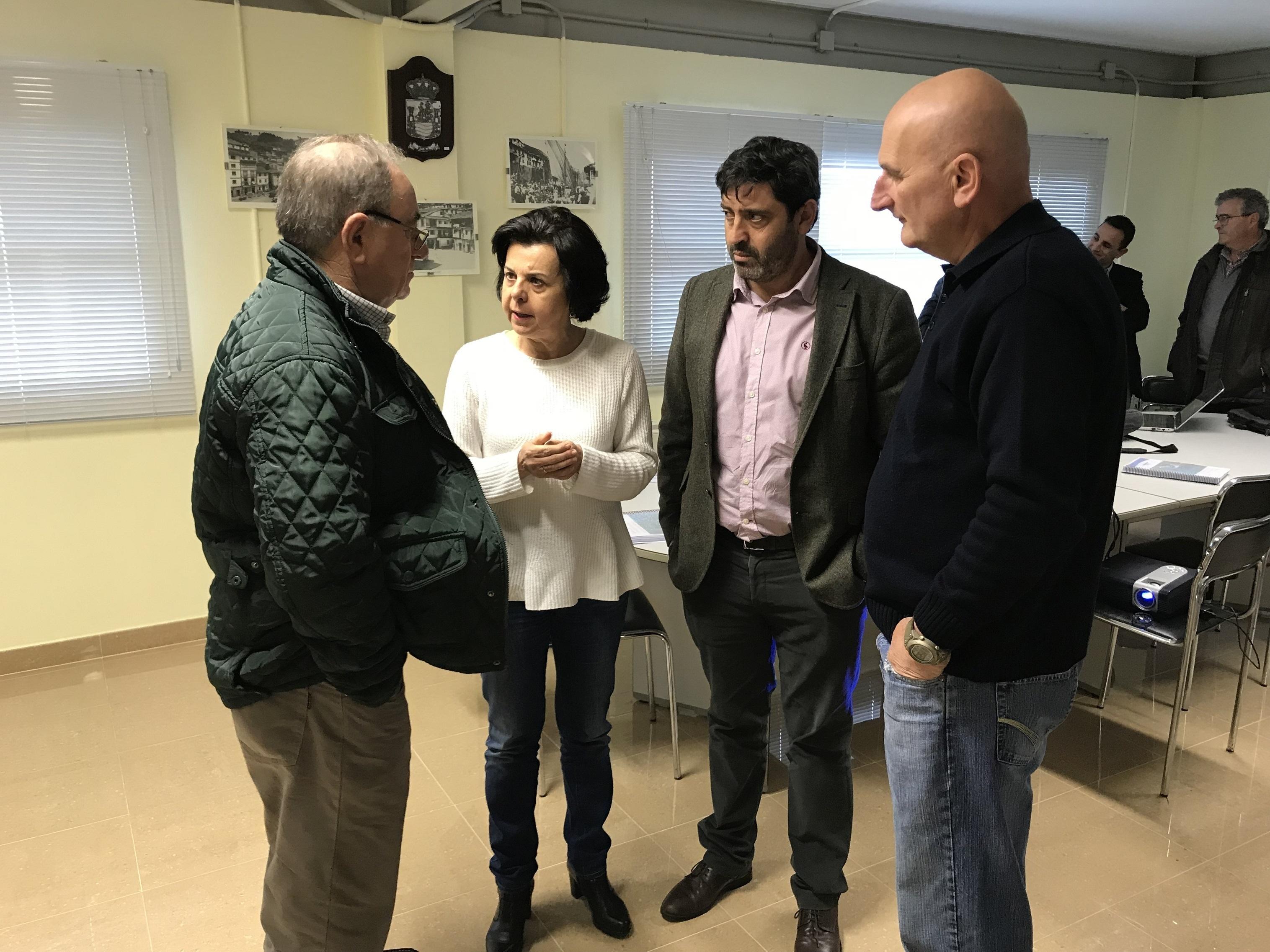 La consejería de Desarrollo Rural presenta el Estudio de implantación de energías renovables en las cofradías de pescadores de Asturias