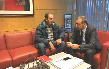 """Eustaquio Revilla: el consejero de Infraestructuras """"está totalmente convencido y volcado con el proyecto"""" de carretera Grandas de Salime-Navia"""