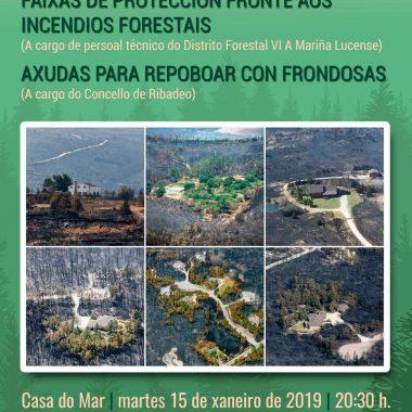 Jornada informativa en Ribadeo sobre repoblación con frondosas