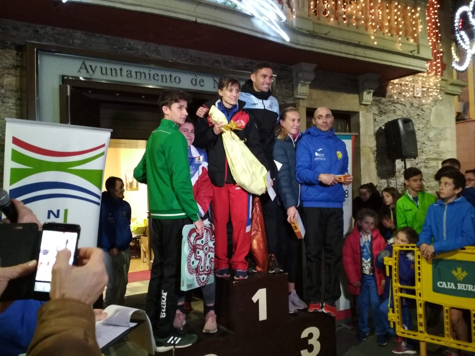 El malagueño Daniel Pérez y la praviana Leticia Prieto, Vencedores de la San Silvestre de Navia