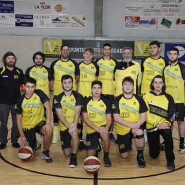 Victoria del Club Baloncesto Vegadeo en la cancha del Maliayu (46-54)