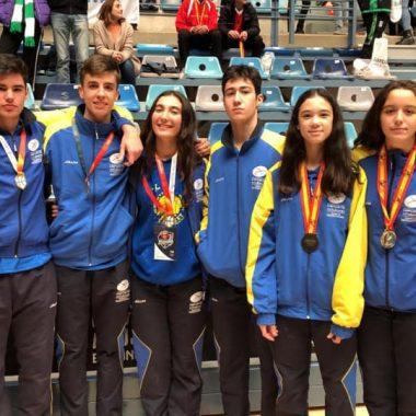 Buen papel de los jugadores naviegos con las Selecciones de Asturias Cadetes e Infantiles de Baloncesto