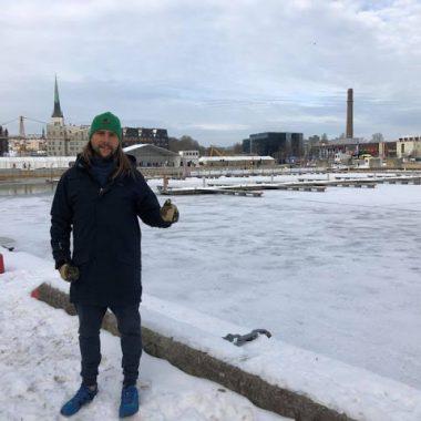 Mario Gorgojo, competirá durante el fin de semana en la Copa del Mundo de Aguas Heladas